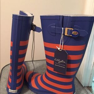 Women Lilly bee Florida gators rain boots sz 9